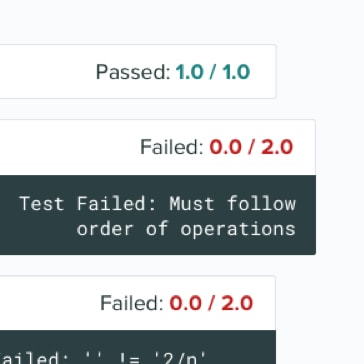 Grade code submissions